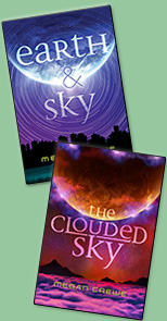 Earth & Sky trilogy covers