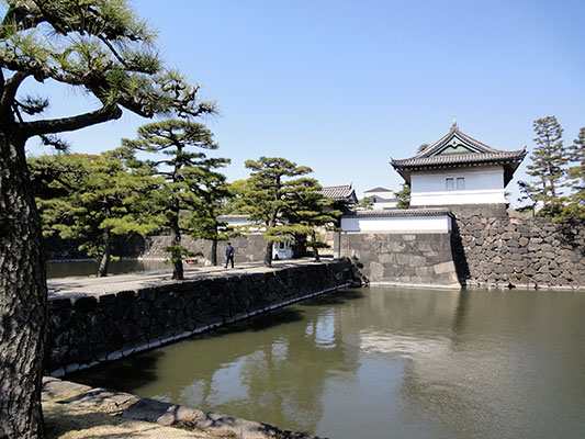 the gate to the Imperial Palace