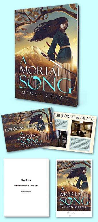 A Mortal Song pre-order gift pack